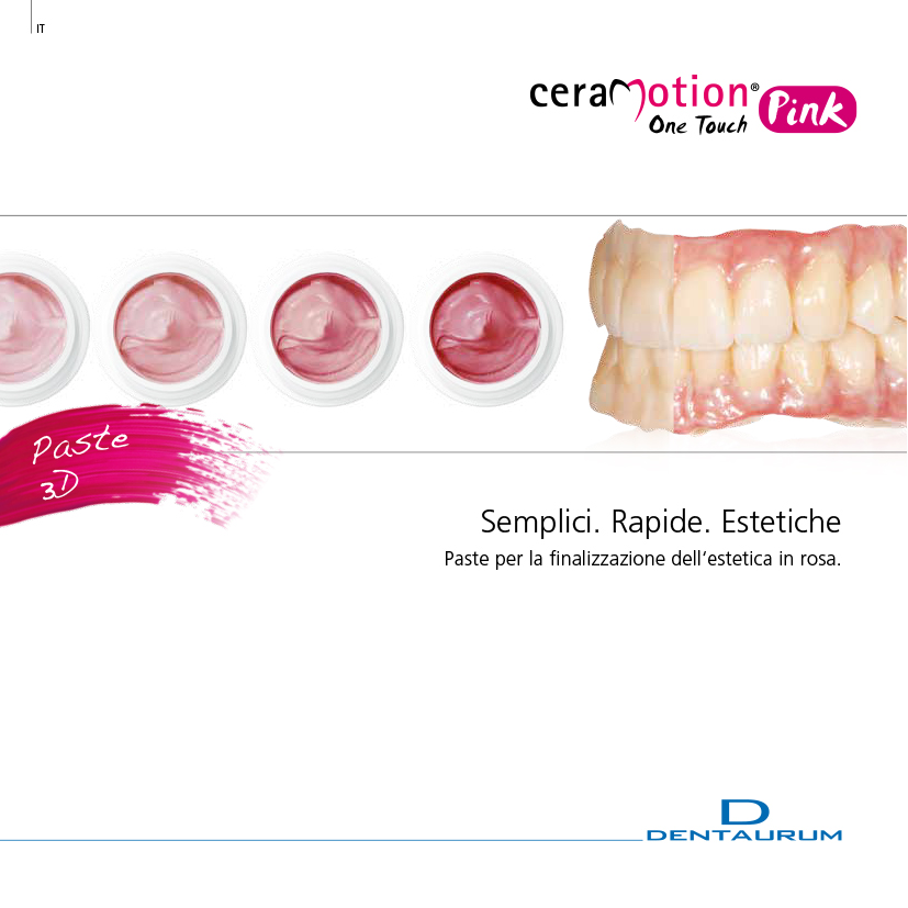 ceramica dentale ceraMotion One Touch Pink